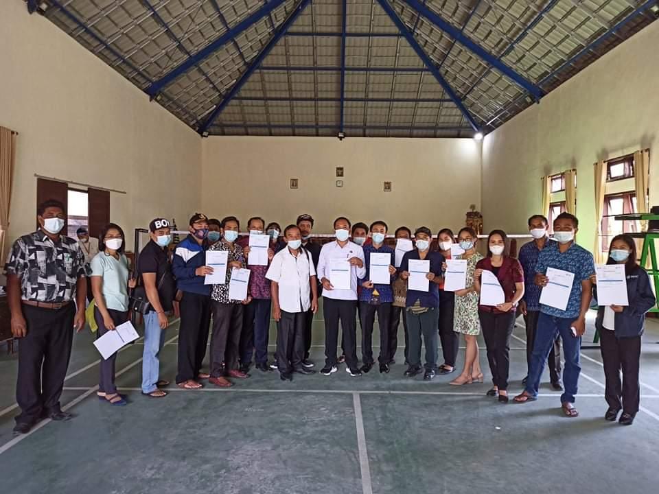 Pelaksanaan Vaksinasi tahap 2 di desa Yangapi